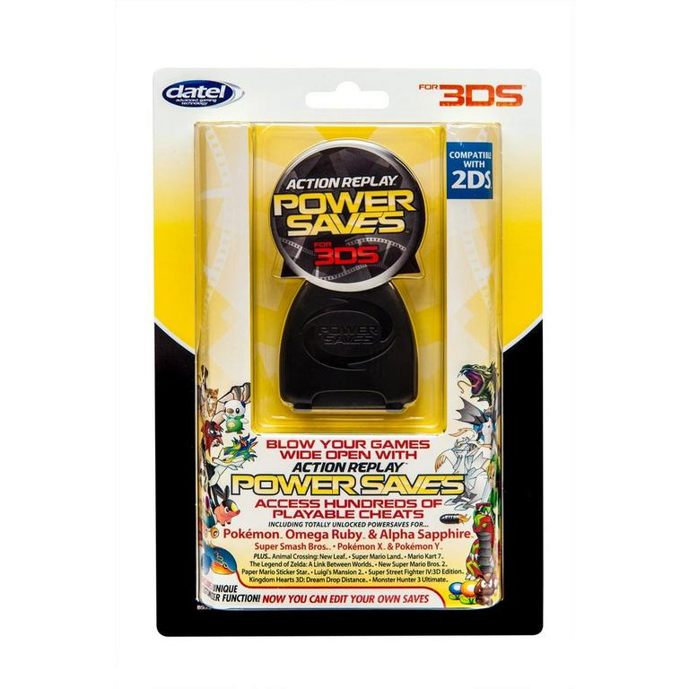 Action Replay PowerSaves for Nintendo 3DS