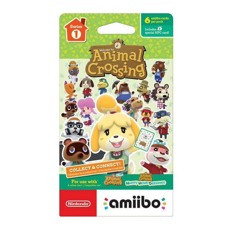 Animal Crossing Series 1 amiibo Trading Cards
