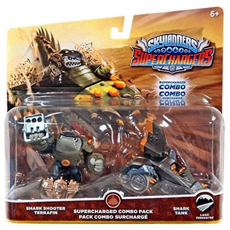 Skylanders SuperChargers Combo Pack - Shark Shooter Terrafin and Shark Tank