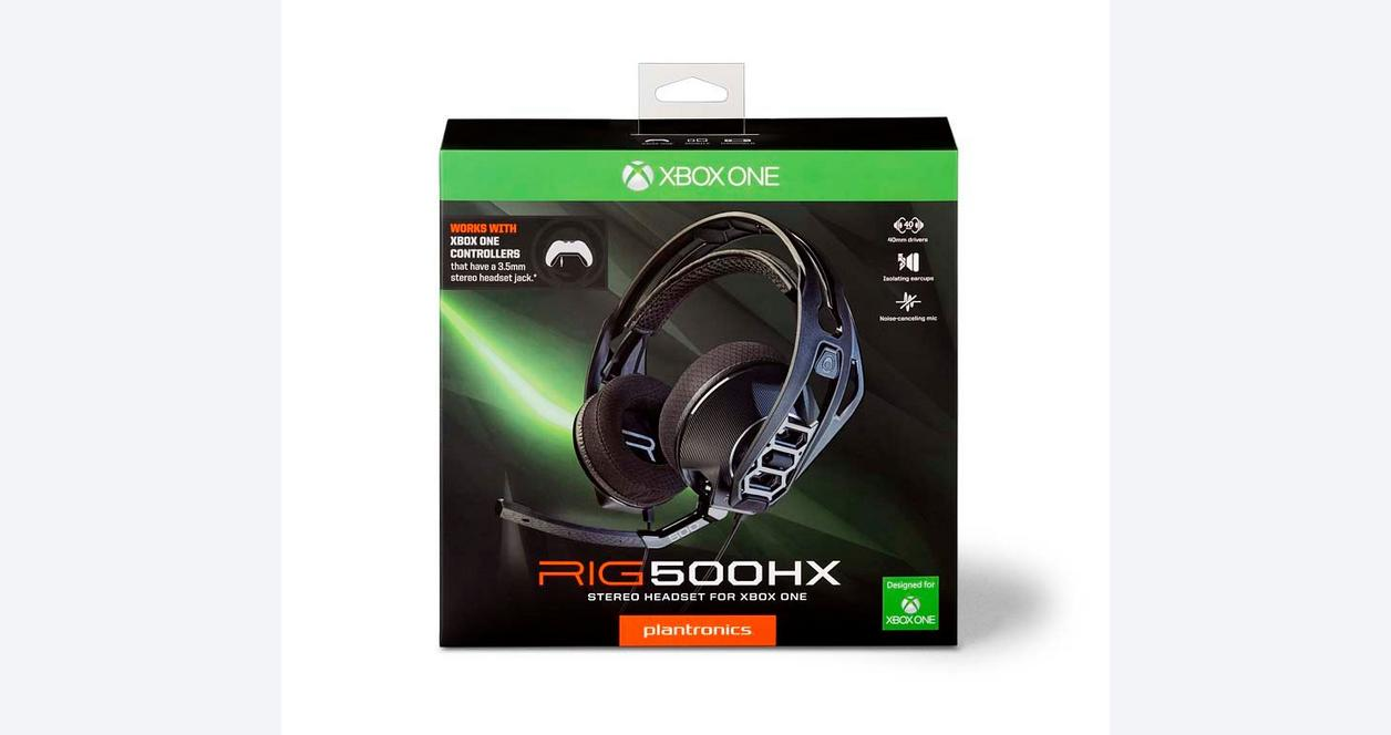 Xbox One RIG 500HX Stereo Gaming Headset | Xbox One | GameStop