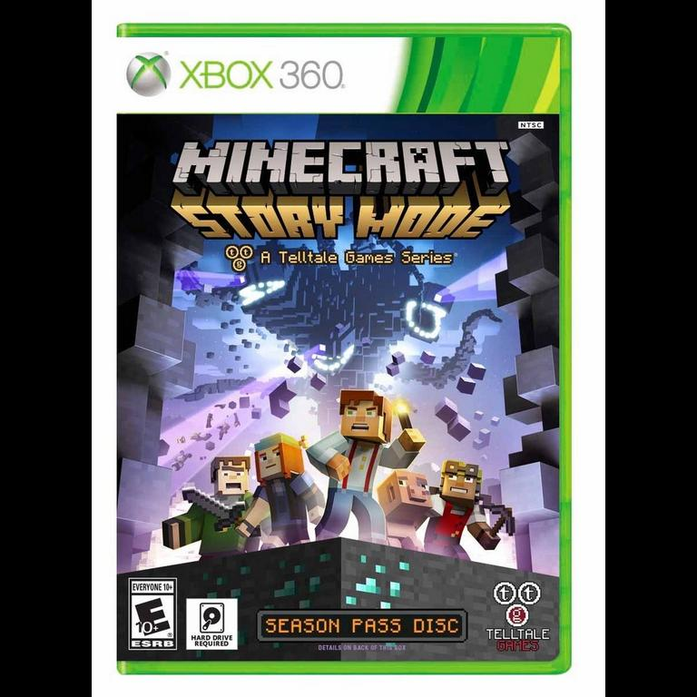 Minecraft Story Mode Season Pass Disc Chapter One Only Xbox