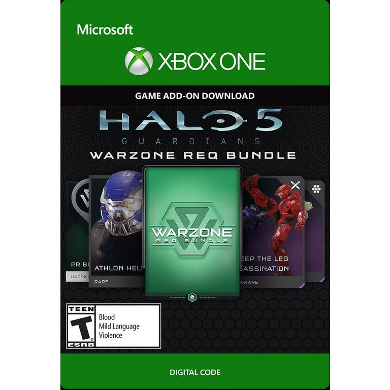 Microsoft Digital Halo 5: Guardians Warzone REQ Bundle Xbox One Download Now At GameStop.com!
