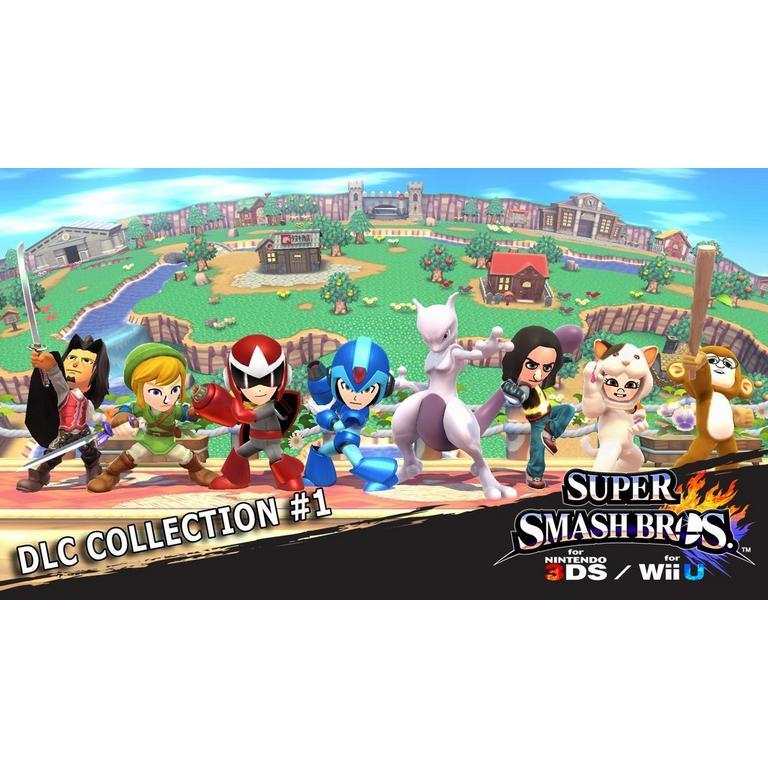 Super Smash Bros. DLC Collection 1