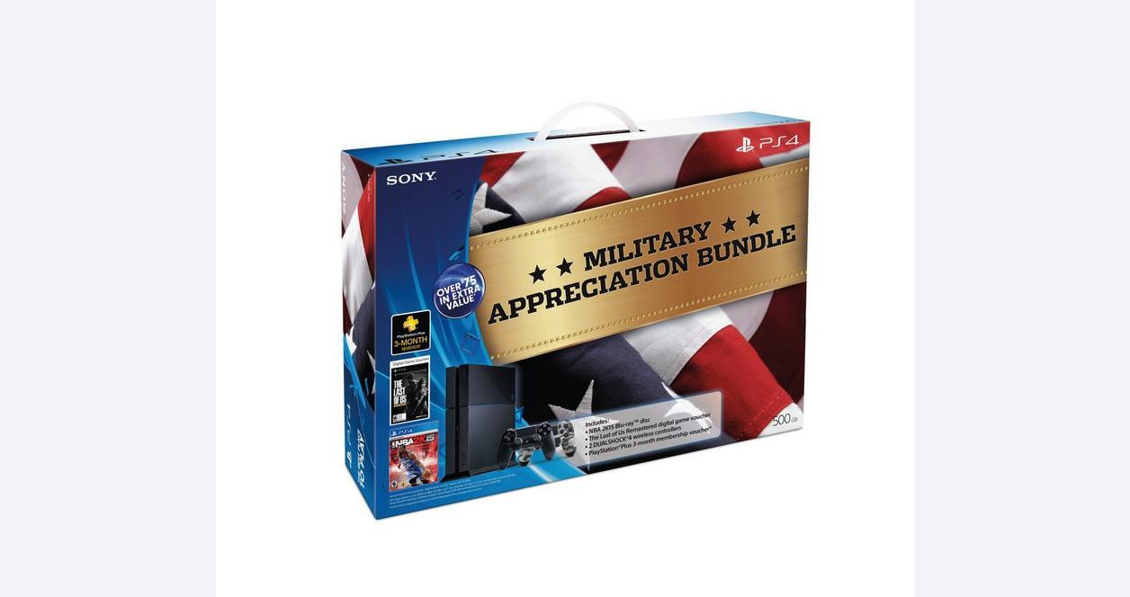 PlayStation 4 500GB Military Appreciation Bundle