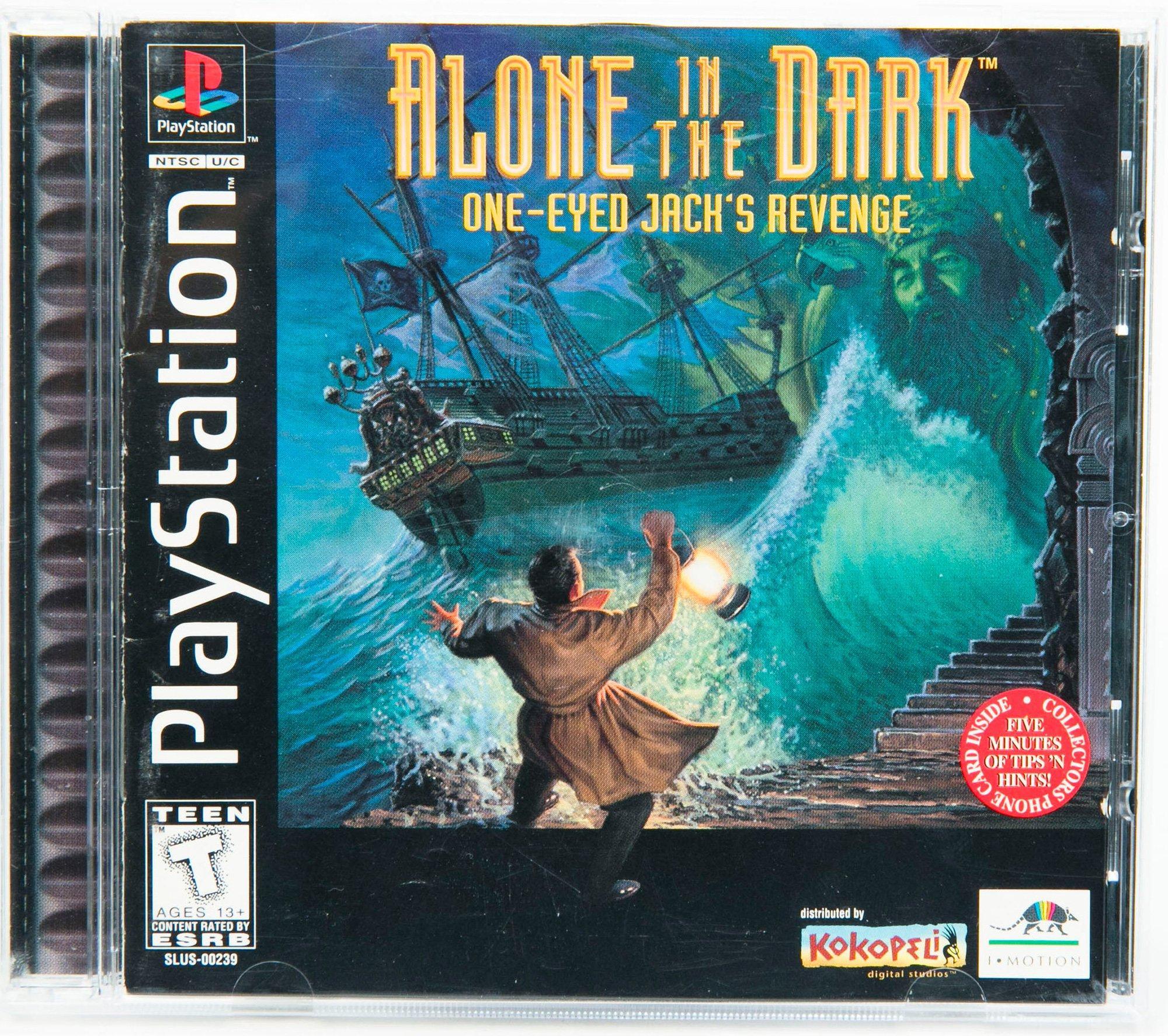 Alone In The Dark One Eyed Jack S Revenge Playstation Gamestop