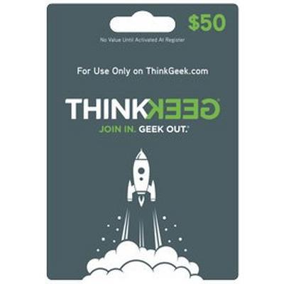 ThinkGeek.com $50 Gift Card (Digital Code)