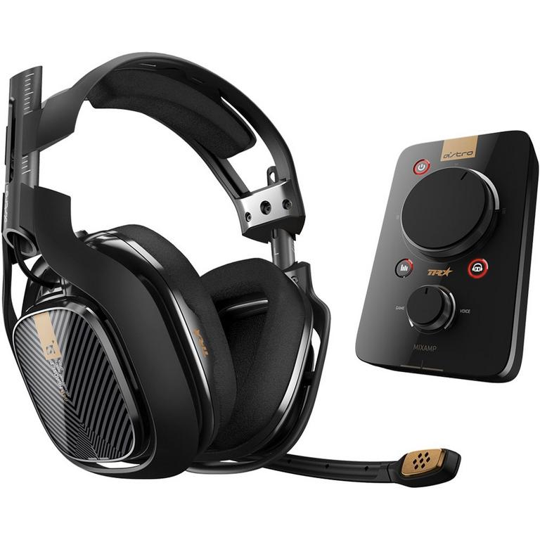 A40 TR Wired Gaming Headset and MixAmp Pro TR for PlayStation 4