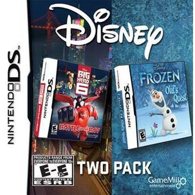 Disney 2 Pack: Frozen and Big Hero 6