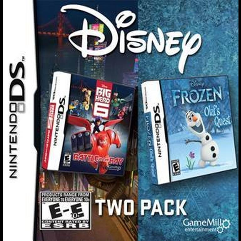 Disney Big Hero 6: Battle in the Bay and Frozen: Olaf's Quest 2 Pack