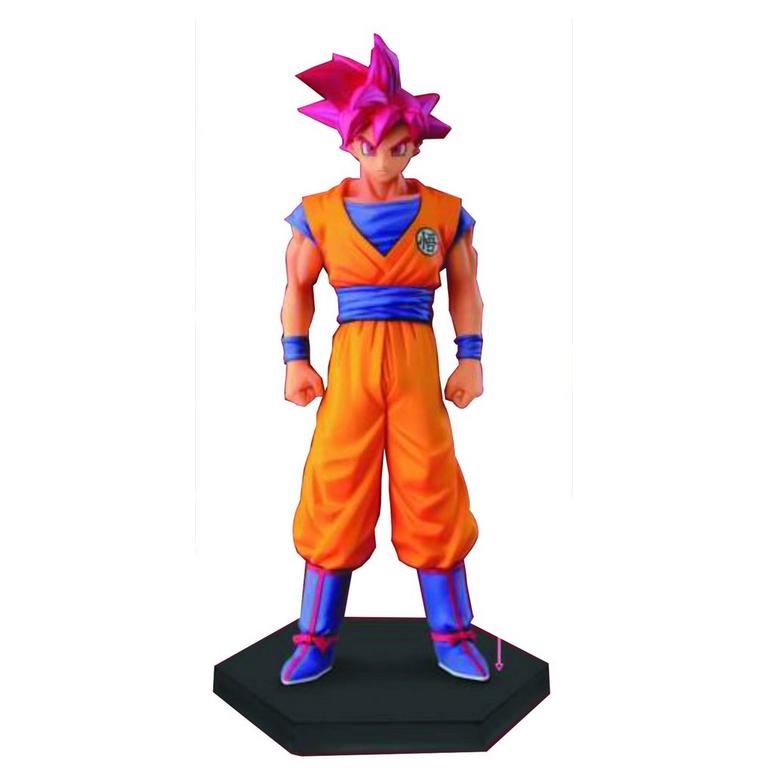 Dragon Ball Z Super Saiyan God Son Goku DXF Chozousyu Statue