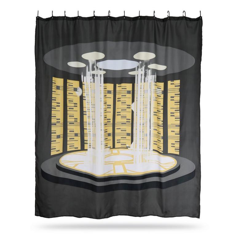 Star Trek Transporter Shower Curtain - By ThinkGeek