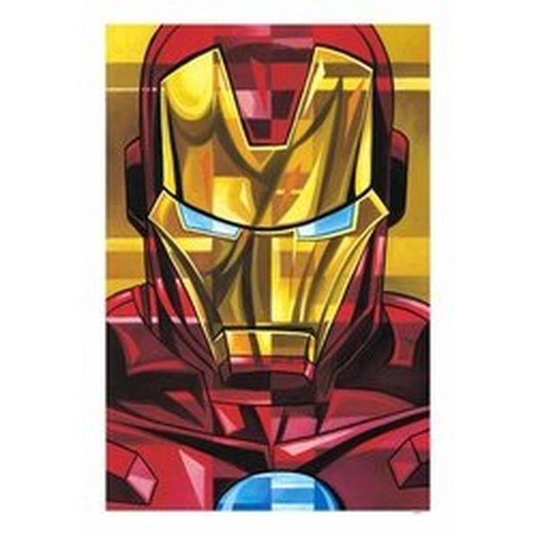 Iron Man Petite Canvas