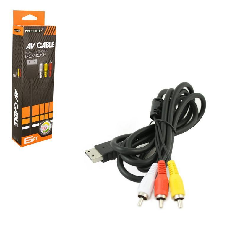 Sega Dreamcast 6 FT Audio Video Cable