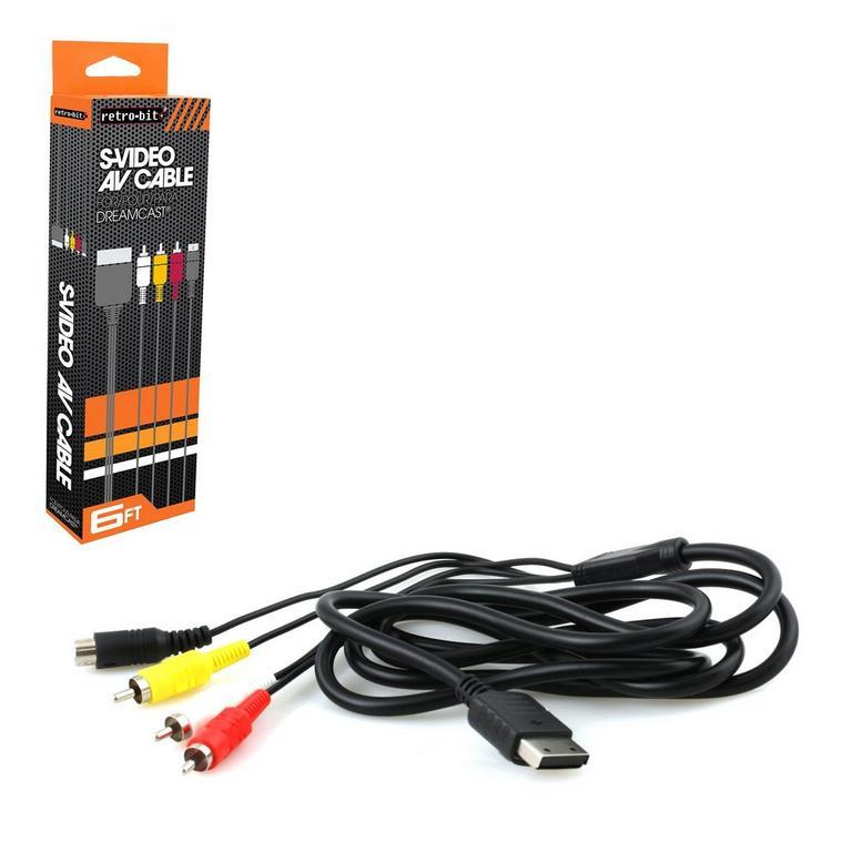 S-AV Cable for SEGA Dreamcast