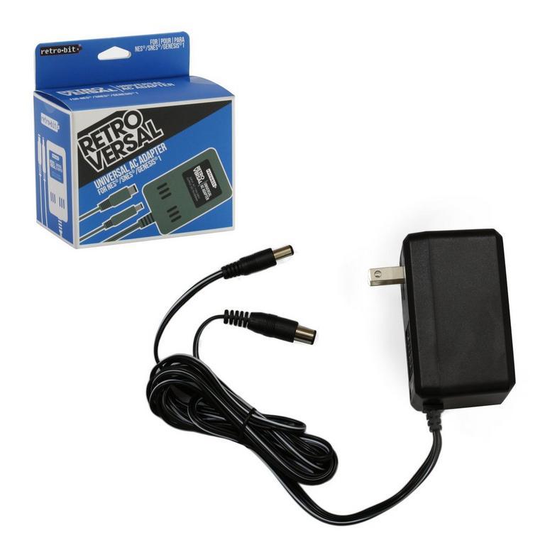 Universal 3-In-1 AC Adapter NES/SNES/GENESIS Compatible