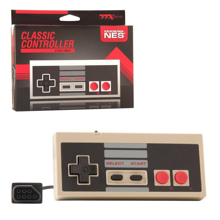 Nintendo NES Wired 8 Bit Controller - Classic Color