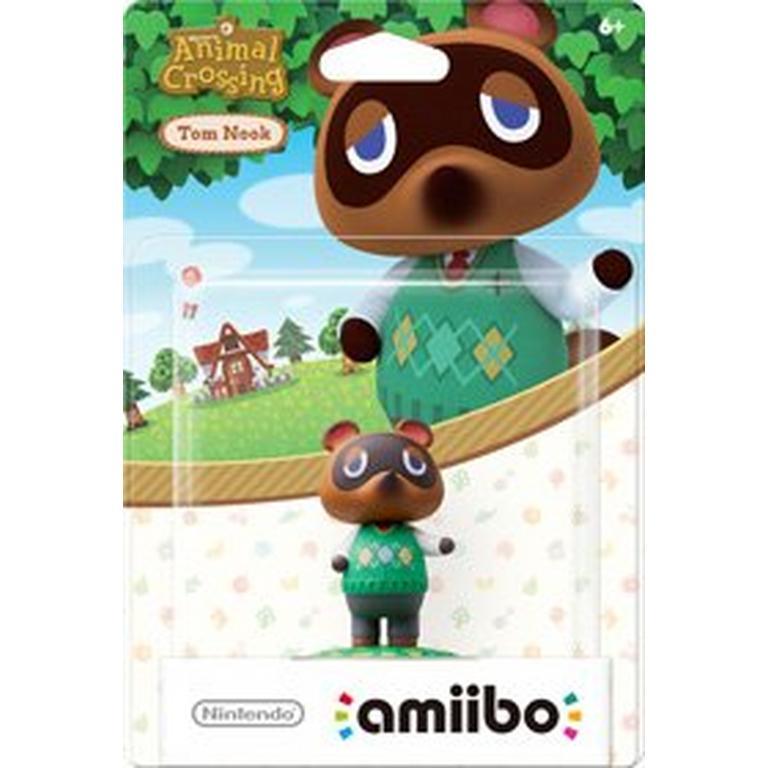 Animal Crossing Tom Nook amiibo Figure