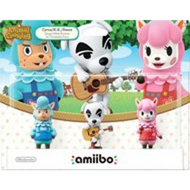 Animal Crossing 3-Pack amiibo Figures