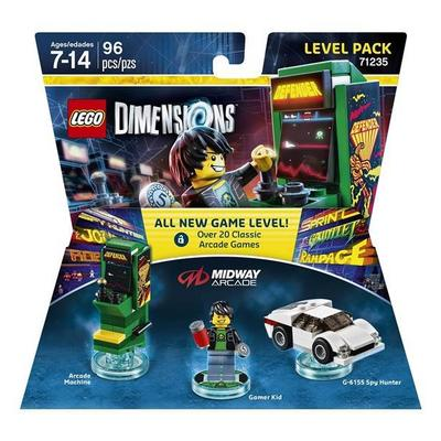 LEGO Dimensions Level Pack - Midway Retro Arcade