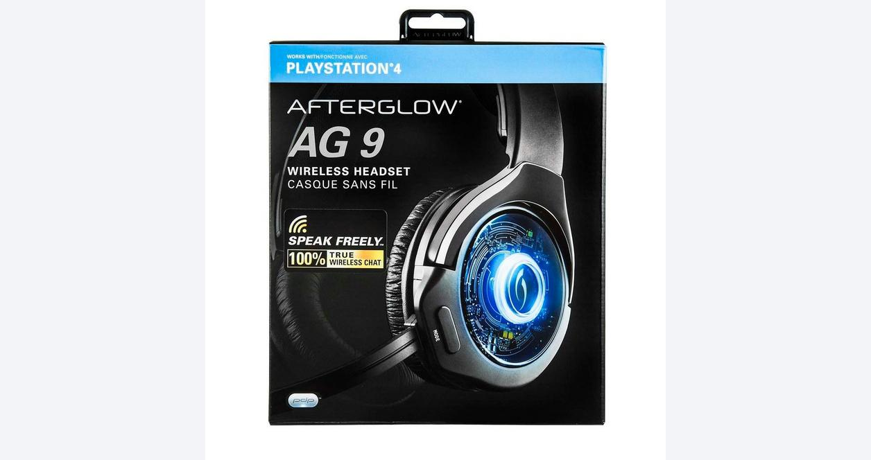 PlayStation 4 Afterglow AG 9 Premium Wireless Gaming Headset