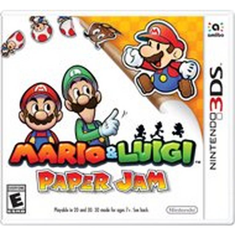 Mario and Luigi: Paper Jam