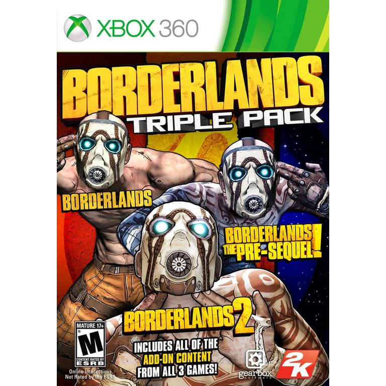 Borderlands Triple Pack | Xbox 360 | GameStop