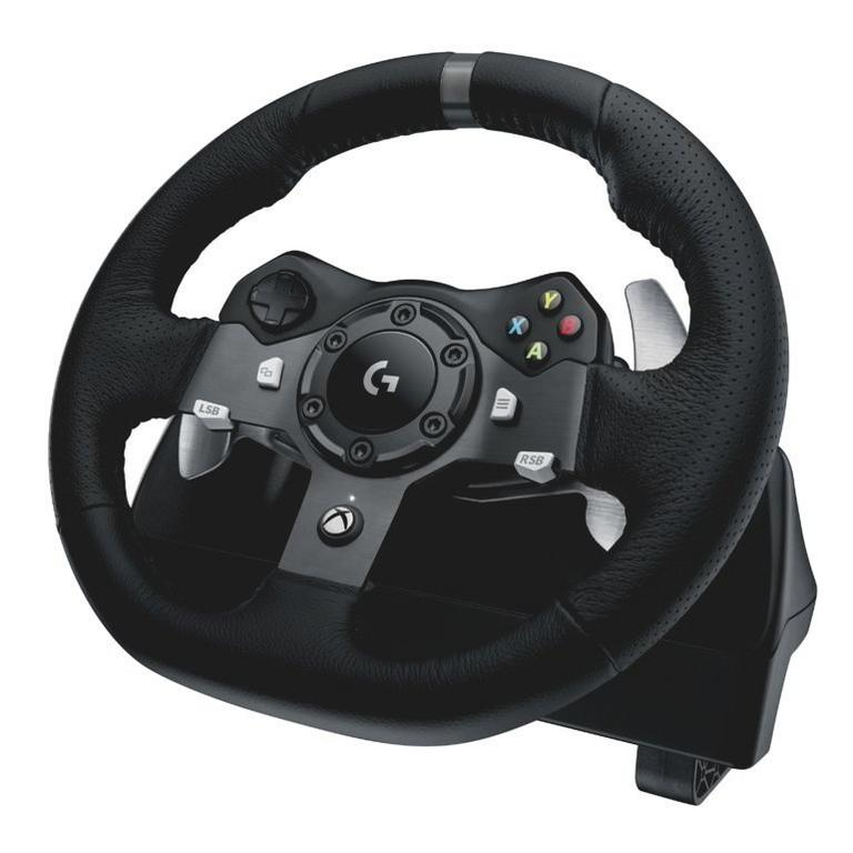 Logitech G920 Driving Force Racing Wheel for Xbox One and PC Available At GameStop Now!