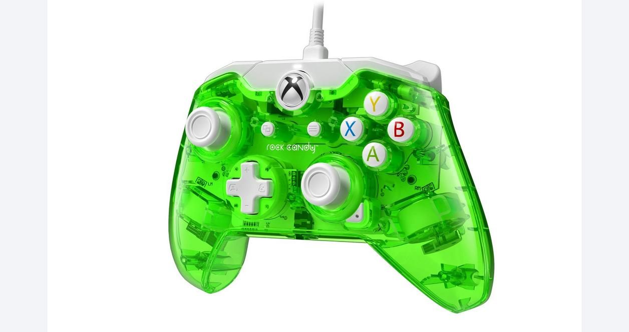 Xbox One Rock Candy Wired Controller - Aqualime