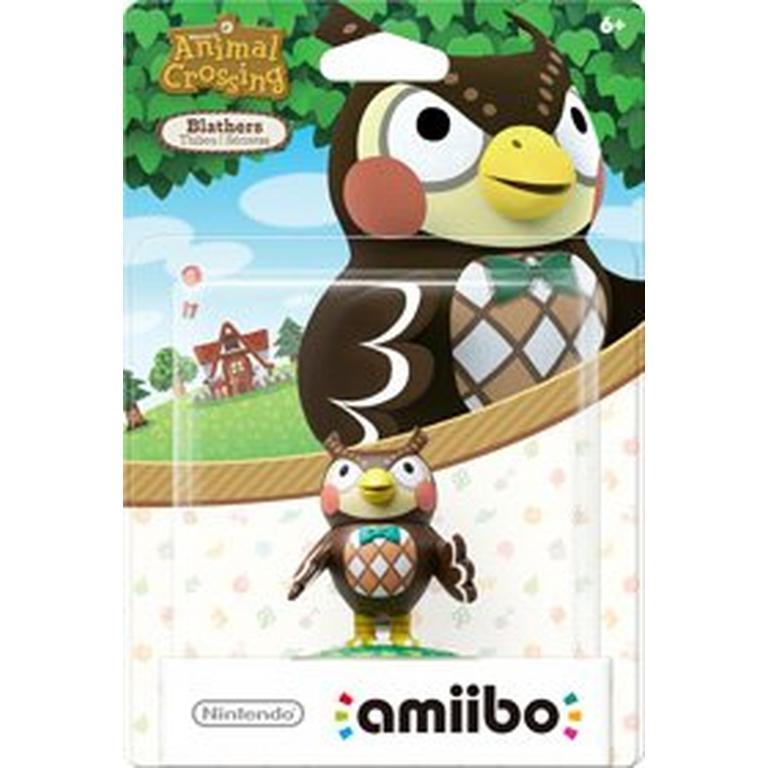 Animal Crossing Blathers amiibo Figure