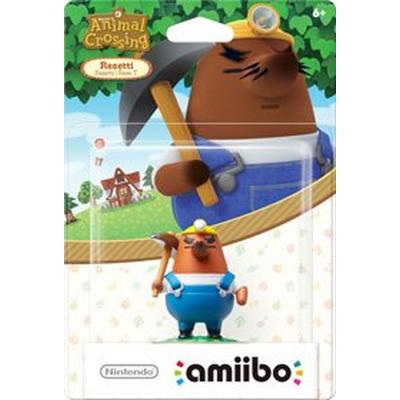 Animal Crossing Mr Resetti amiibo Figure