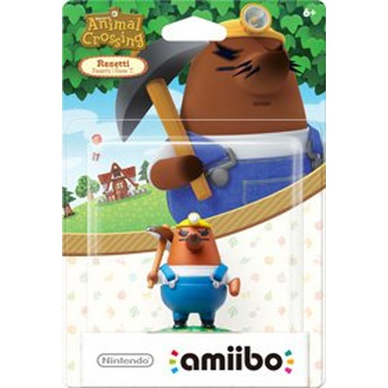 Animal Crossing Resetti amiibo