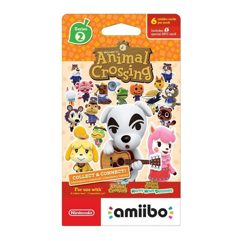 Animal Crossing Series 2 amiibo Trading Cards
