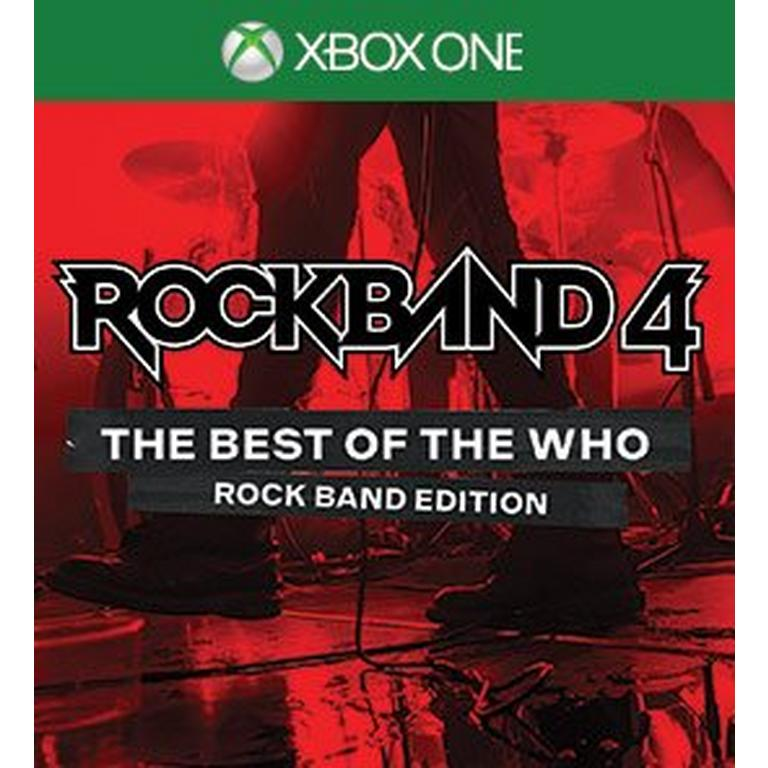 Rock Band 4 The Best of the Who