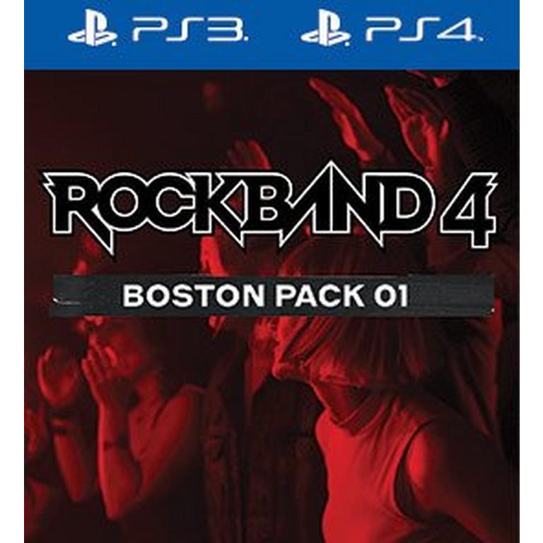 Rock Band 4 Boston Pack 1