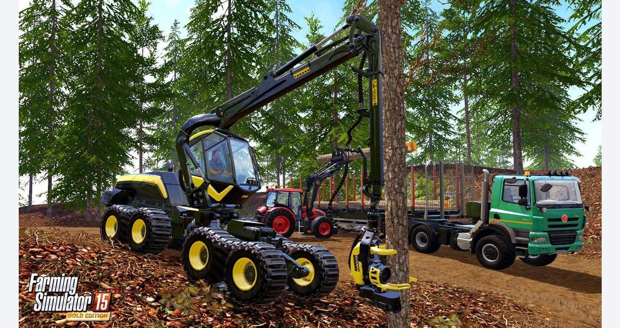 Farming Simulator 2015 Gold Edition
