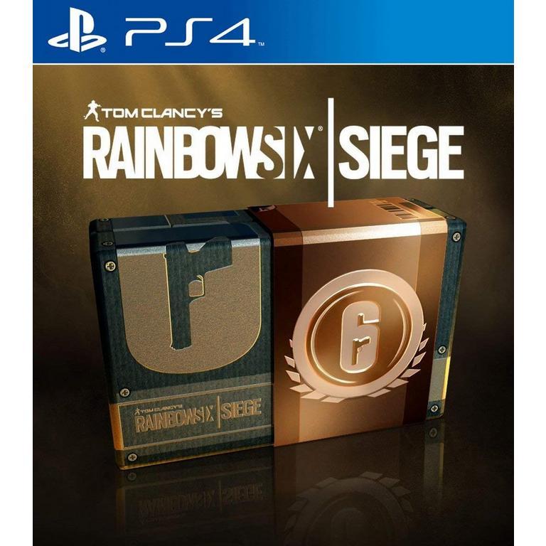 Tom Clancy S Rainbow Six Siege 600 Rainbow Credits Playstation 4 Gamestop