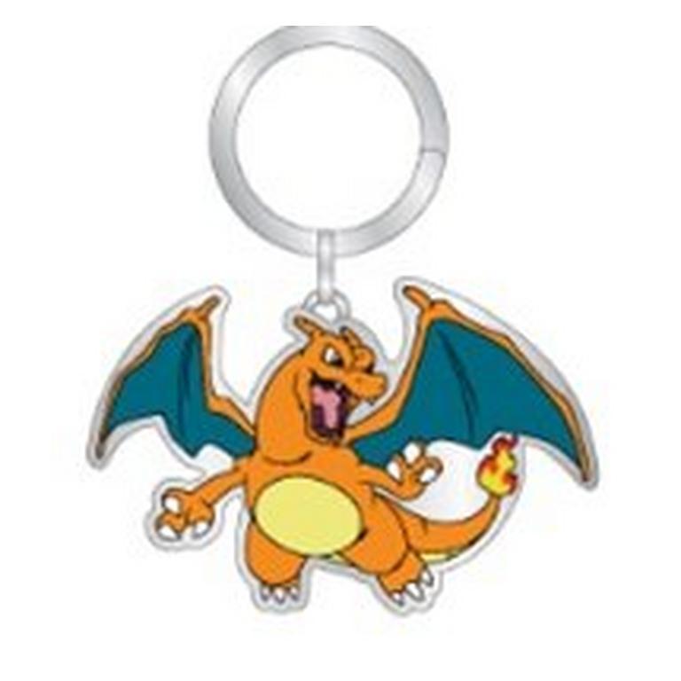 Pokemon Charizard Metal Keychain