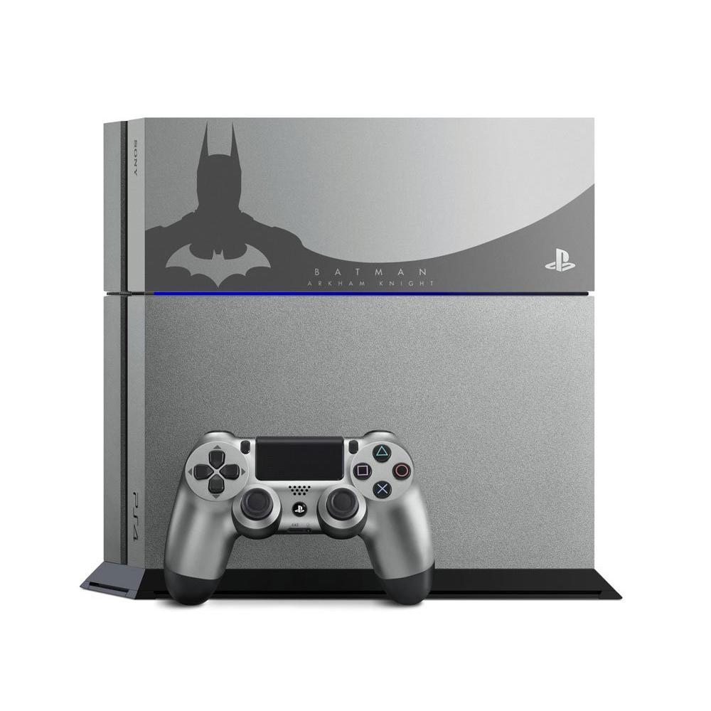 PlayStation 4 Limited Edition Batman 500 GB System (GameStop Premium  Refurbished) - Steel Grey | PlayStation 4 | GameStop