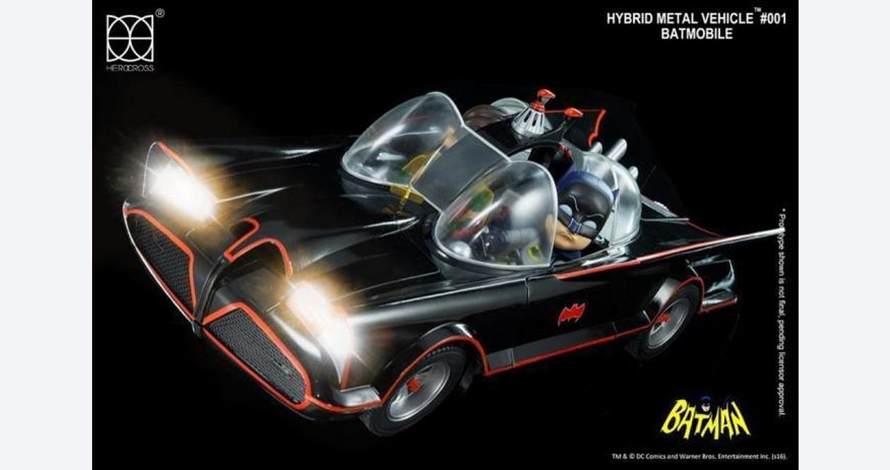 Herocross 1966 TV Version Batmobile