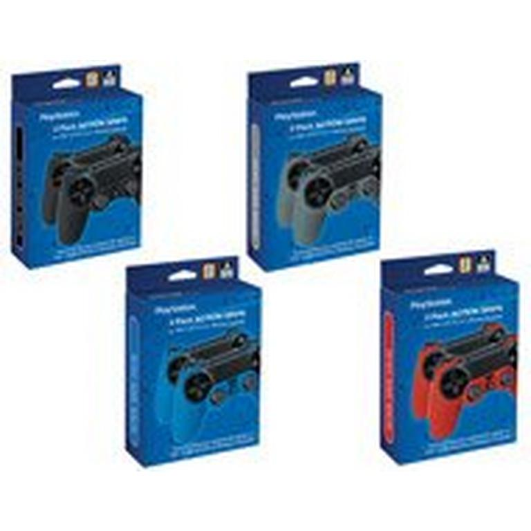 PlayStation 4 DUALSHOCK 4 Action Grip 2 Pack (Assortment)