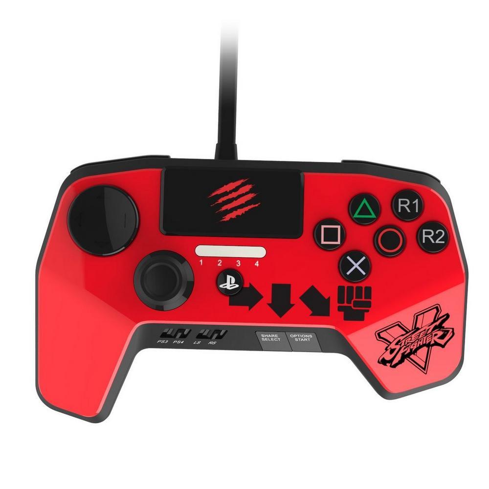Street Fighter V FightPad Pro - Red | <%Console%> | GameStop