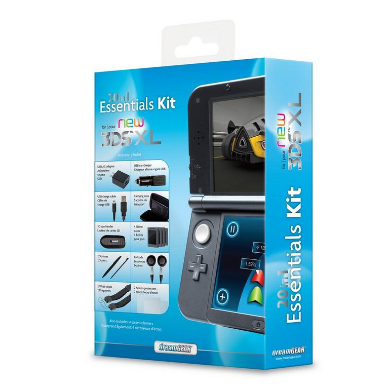 Nintendo New 3DS XL 20 in 1 Essentials Kit