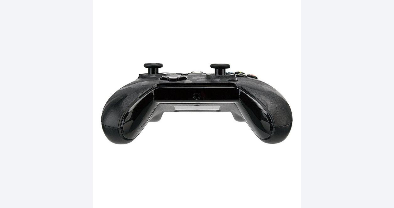 Xbox One Translucent Black Wired Controller