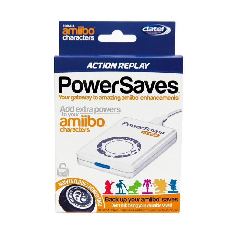 Amiibo Action Replay PowerSaves