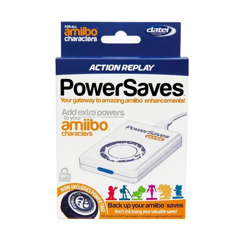 Powersaves amiibo Action Replay