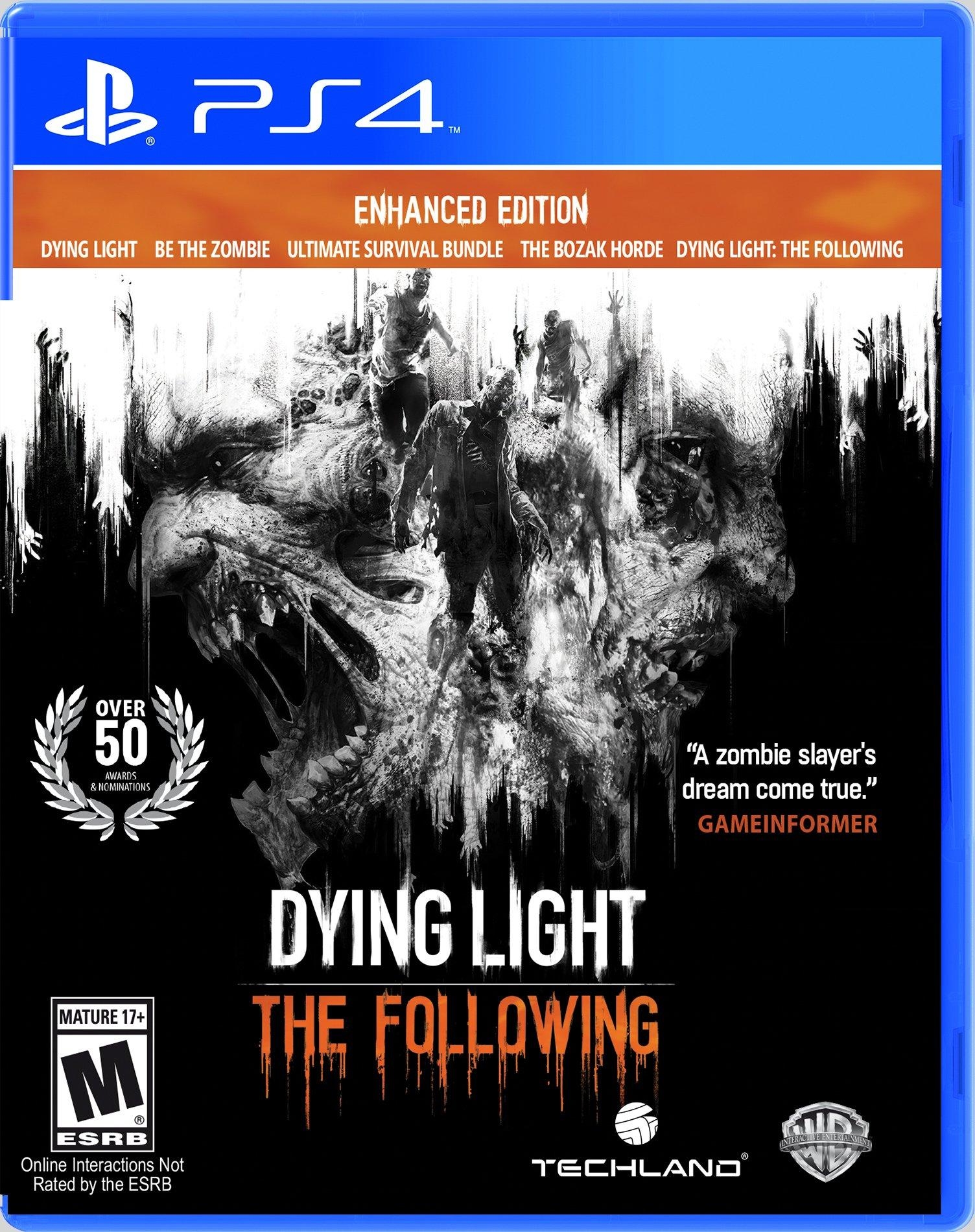 Dying Light: The Following Enhanced Edition   PlayStation 4   GameStop