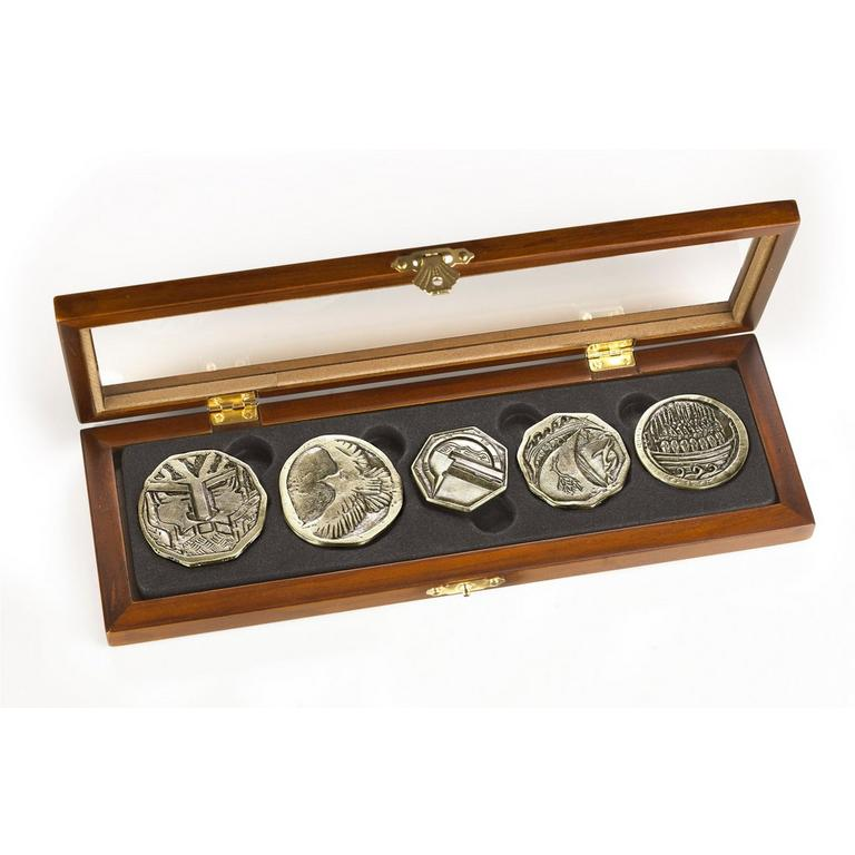 The Hobbit Dwarven Coin Set