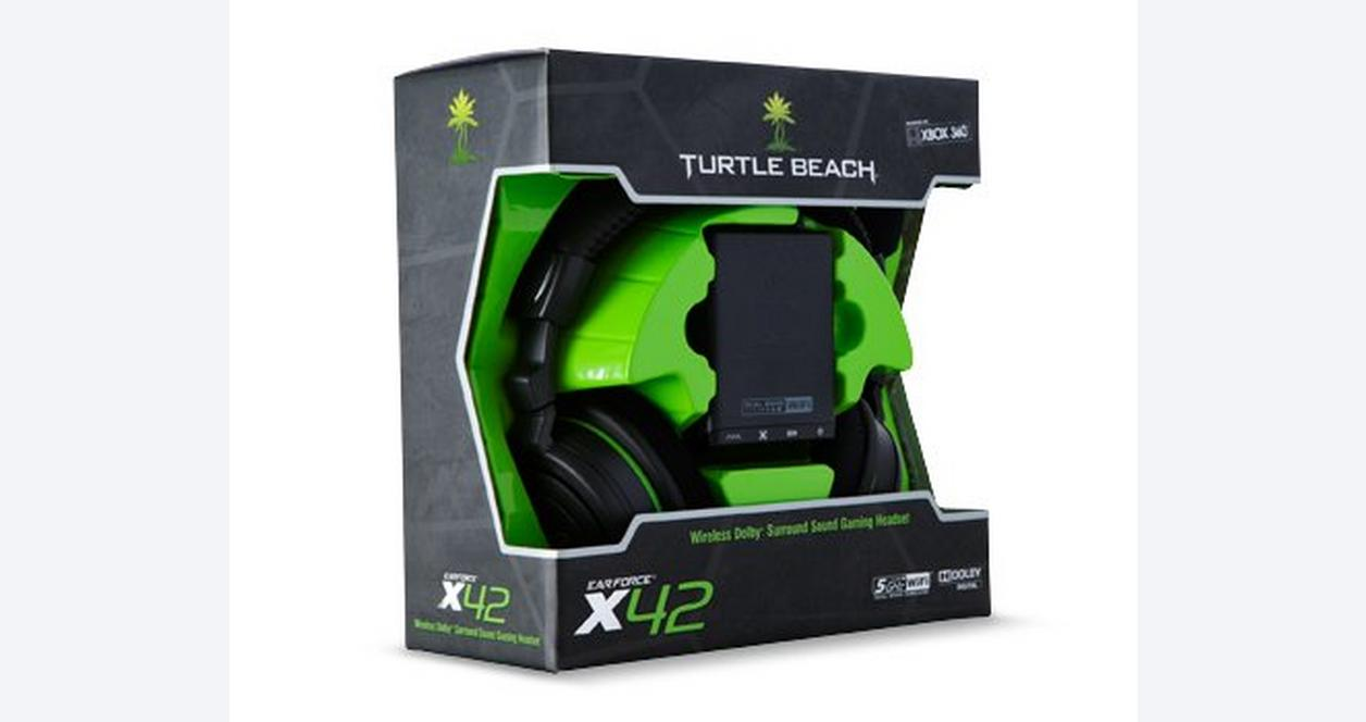 Ear Force X42 Surround Sound Wireless Gaming Headset for Xbox 360