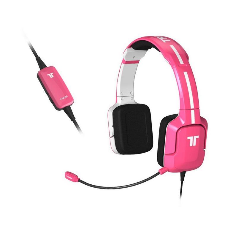 Kunai Pink Wired Stereo Gaming Headset