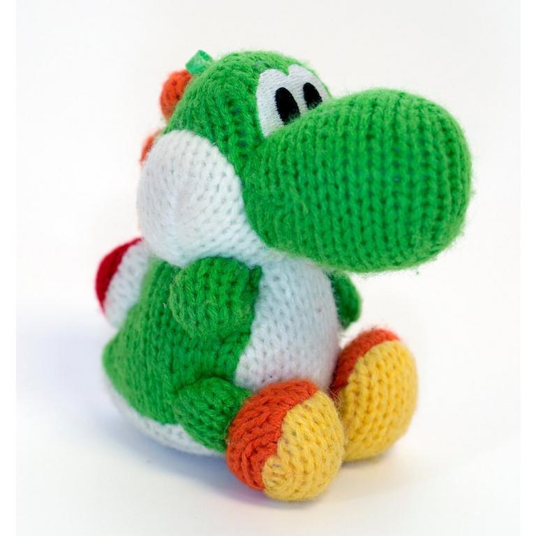 Green Yarn Yoshi amiibo Figure